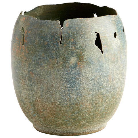 Farmhouse Beauty Planter - Chez Roulez - Vases, Planters and Urns - Cyan Designs
