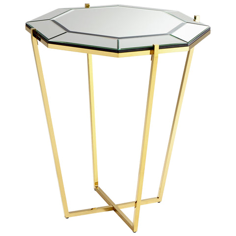 Chez Roulez - Consoles - Cyan Designs - Elara Foyer Table - Gold