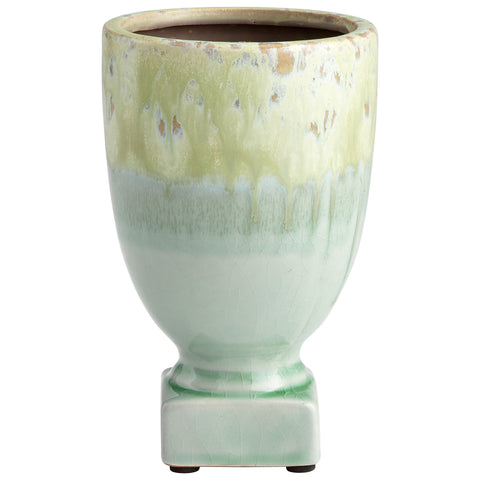 Chez Roulez - Vases, Planters and Urns - Cyan Designs - Bella Delta Planter - Small - 1