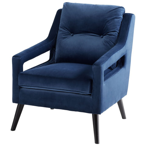 Chez Roulez - Seating - Cyan Designs - Blu Abby Chair - 1