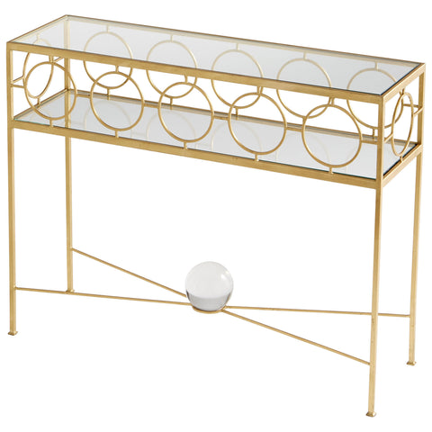 Chez Roulez - Tables - Cyan Designs - Auric Orbit Console Table