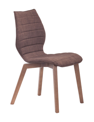 Chez Roulez - Dining Chairs - ZUO - AALBORG DINING CHAIR TOBACCO  - Set of TWO chairs - 1