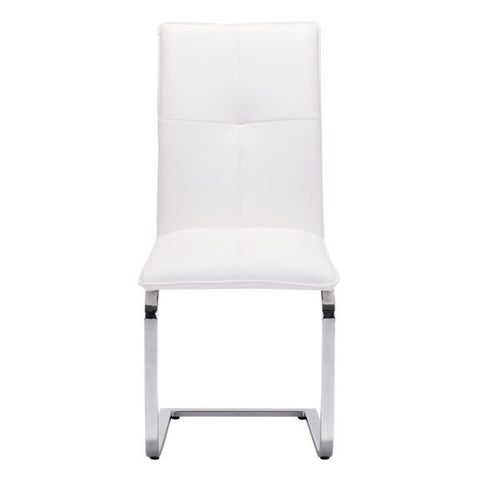 ANJOU DINING CHAIR - WHITE  - Set of TWO chairs