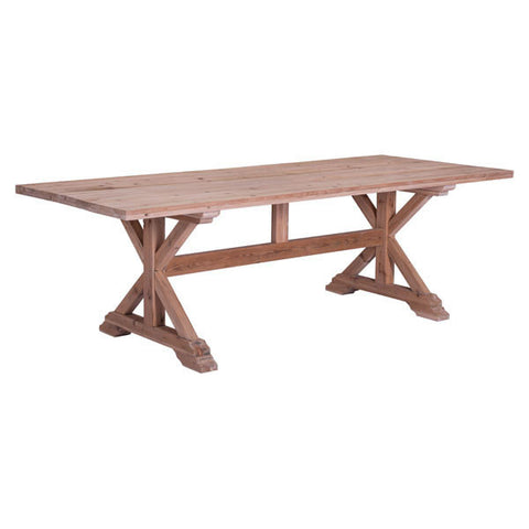 Chez Roulez - Tables - ZUO - Alliance Dining Table - Natural Fir - 1