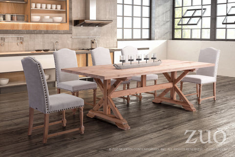 Alliance Dining Table - Natural Fir