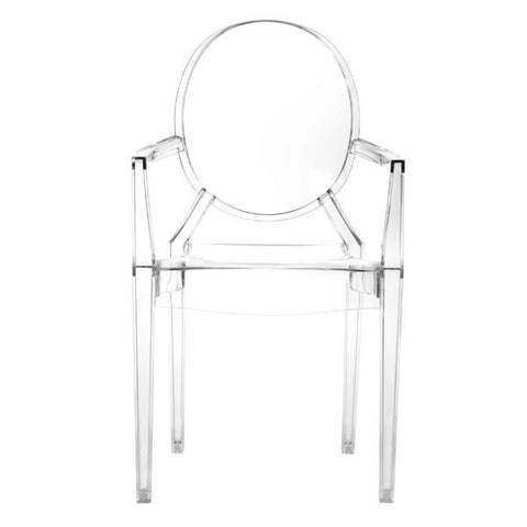 ANIME DINING CHAIR - TRANSPARENT  - Set of FOUR chairs