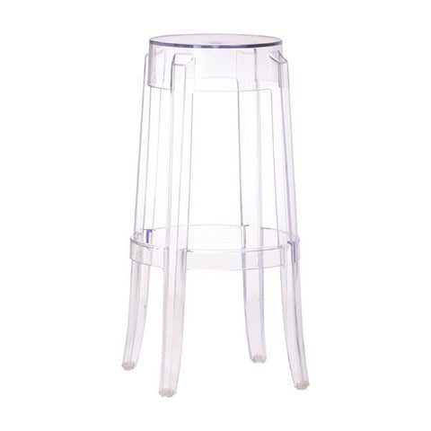 Chez Roulez - Bar Stools and Chairs - ZUO - ANIME BARSTOOL - TRANSPARENT - 1