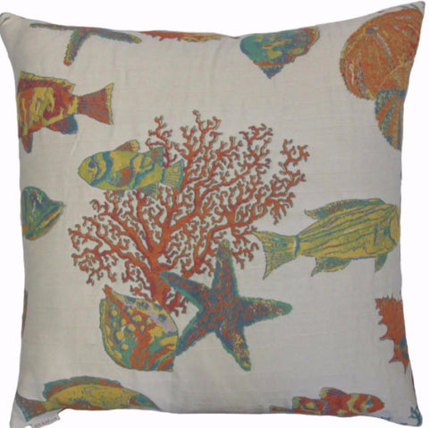 Andros Island Throw Pillow