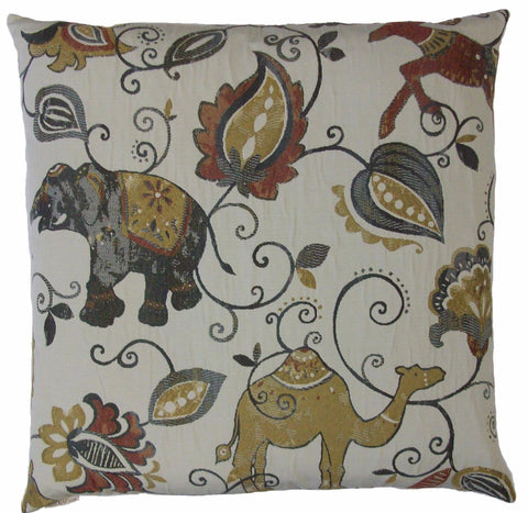 Chez Roulez - Pillows - DV Kap - Animaux Throw Pillow