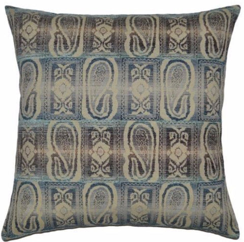 Allegory - Blue Throw Pillow
