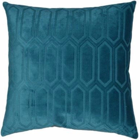 Arkdale - Teal Throw Pillow