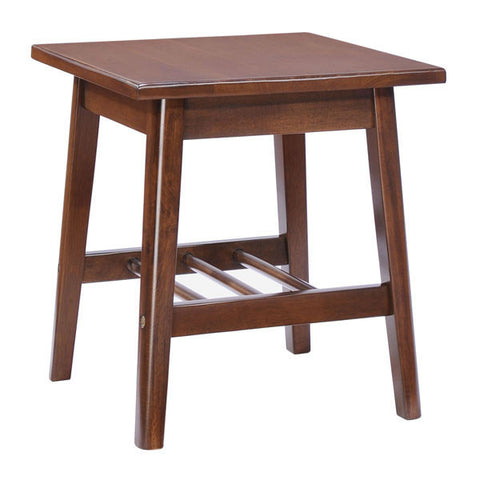 Chez Roulez - Tables - ZUO - AVENTURA SIDE TABLE - WALNUT - 1