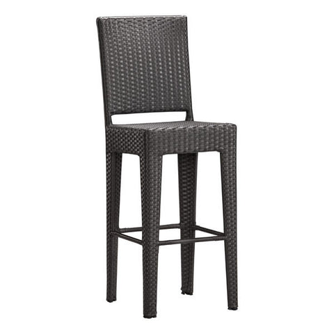 Chez Roulez - Outdoor Furnishings - ZUO - ANGUILLA BAR CHAIR  - Set of TWO chairs - 1