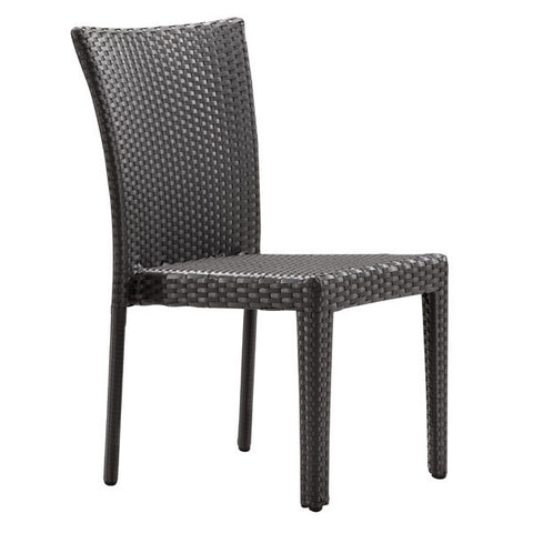 Chez Roulez - Outdoor Furnishings - ZUO - ARICA CHAIR - ESPRESSO  - Set of TWO chairs - 1