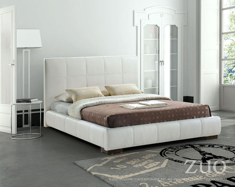 AMELIE BED - QUEEN - WHITE