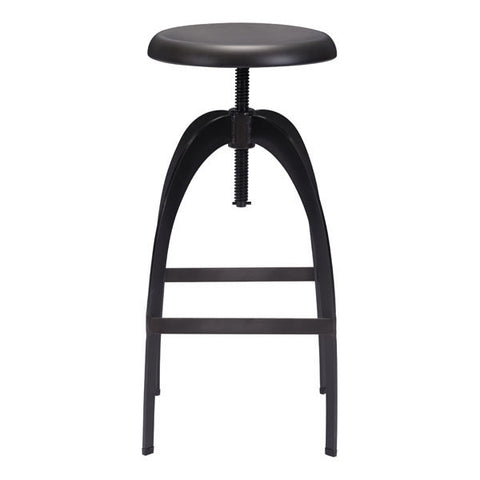 ARISTOTLE BARSTOOL - ANTIQUE BLACK