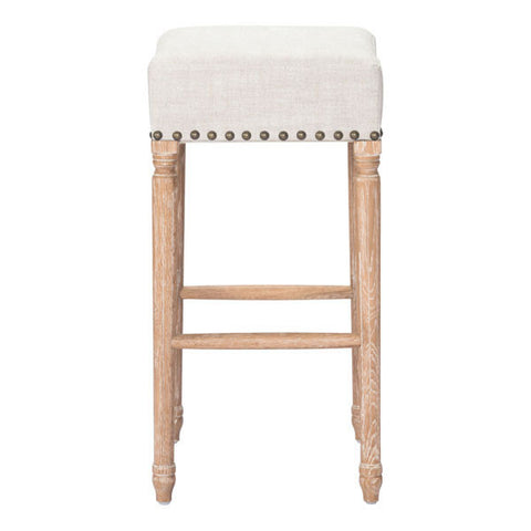 ANAHEIM BARSTOOL - BEIGE  - Set of TWO stools