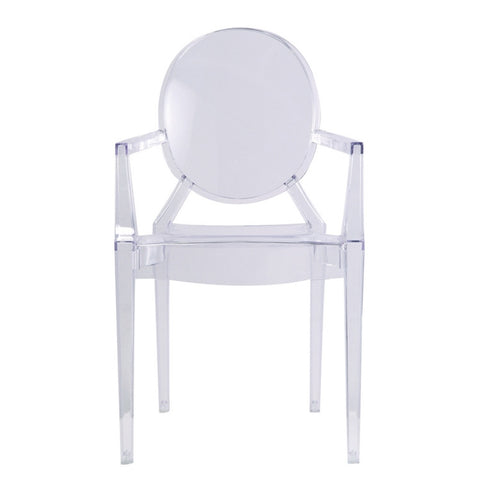 Clear Arm Chair - Set of 2 or 4