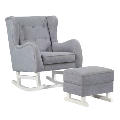 Chez Roulez - Seating - Fine Mod Imports - Baby Lounge Chair with Ottoman - 1