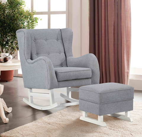 Baby Lounge Chair with Ottoman