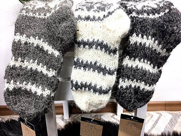 100% Real Wool Socks