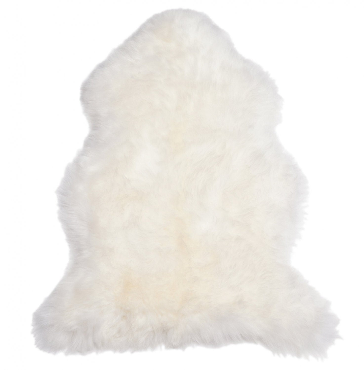 Fluffy Lambskin Rug. Premium Quality!  Sheepskin! About 80cmx70cmx55cm! Ivory Natural Sheepskin Lamb. Soft and Luxurious Long Hair.