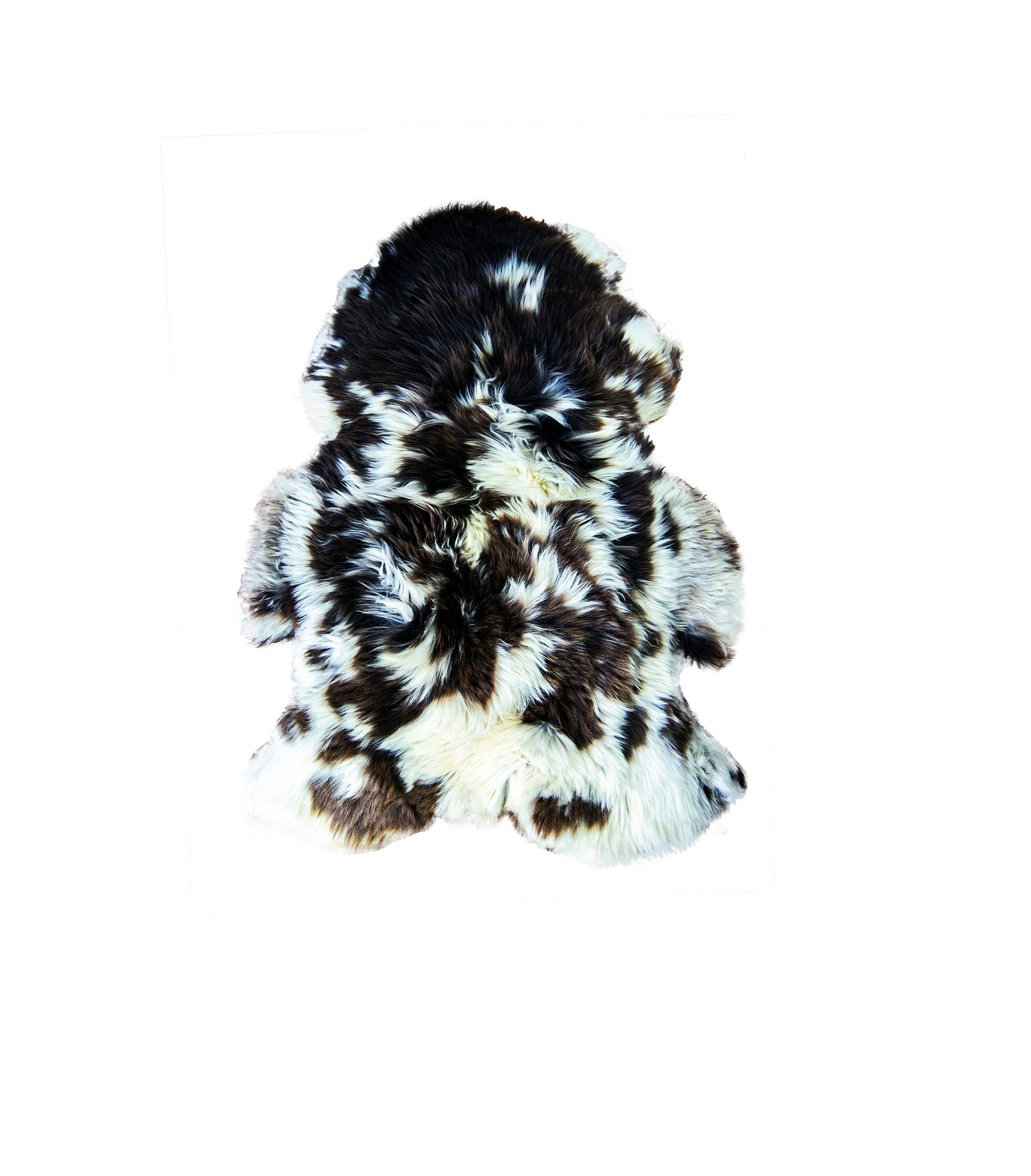 Natural Jacob Rare Breed Sheepskin Rug | HUGE 130 cm