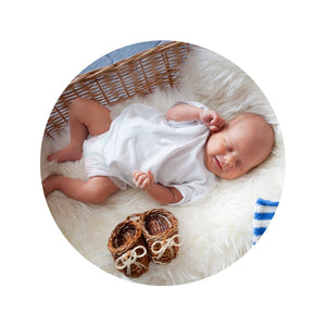 Nursery Sheepskin Blanket