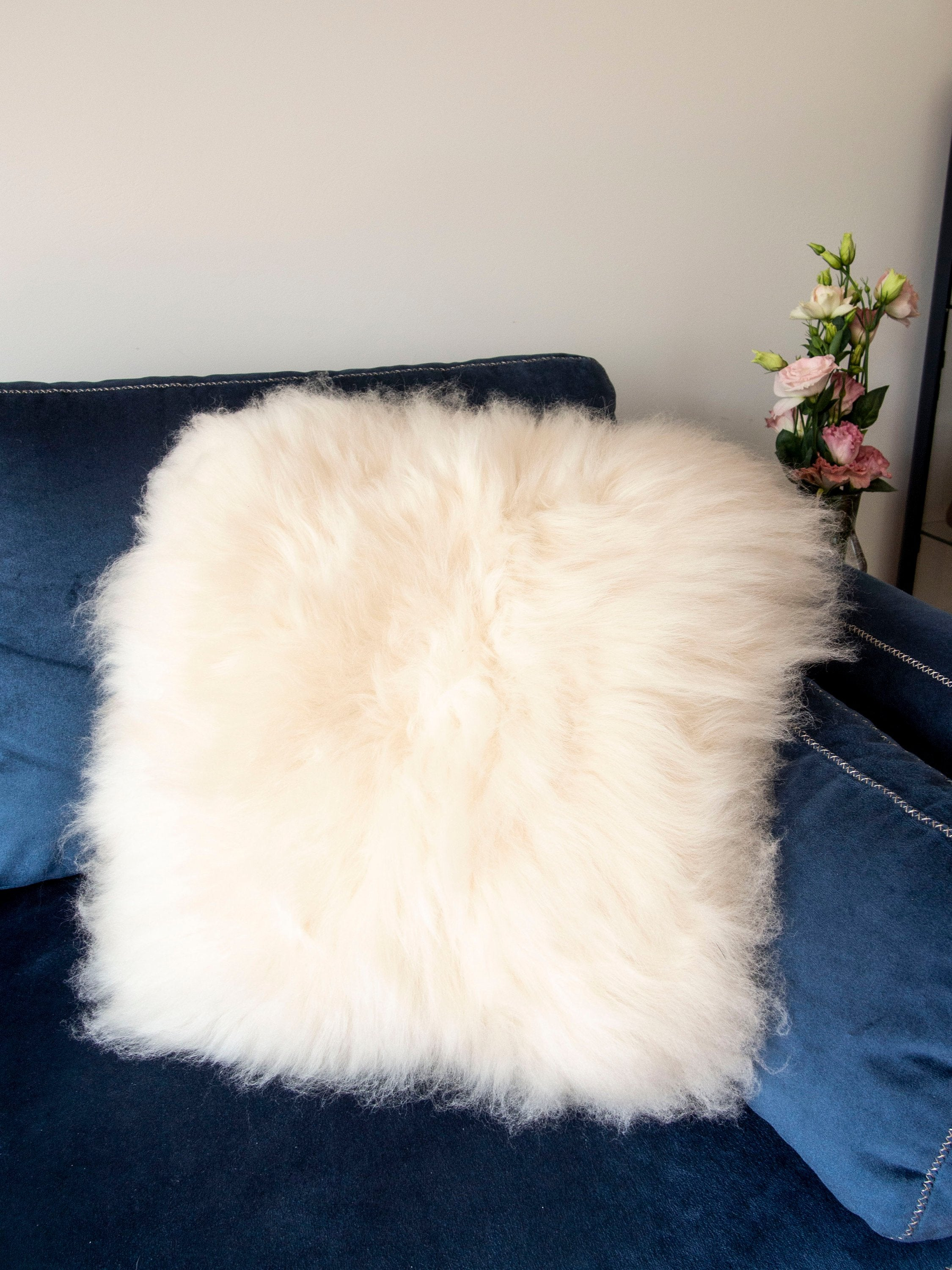 Square Furry Pillow.