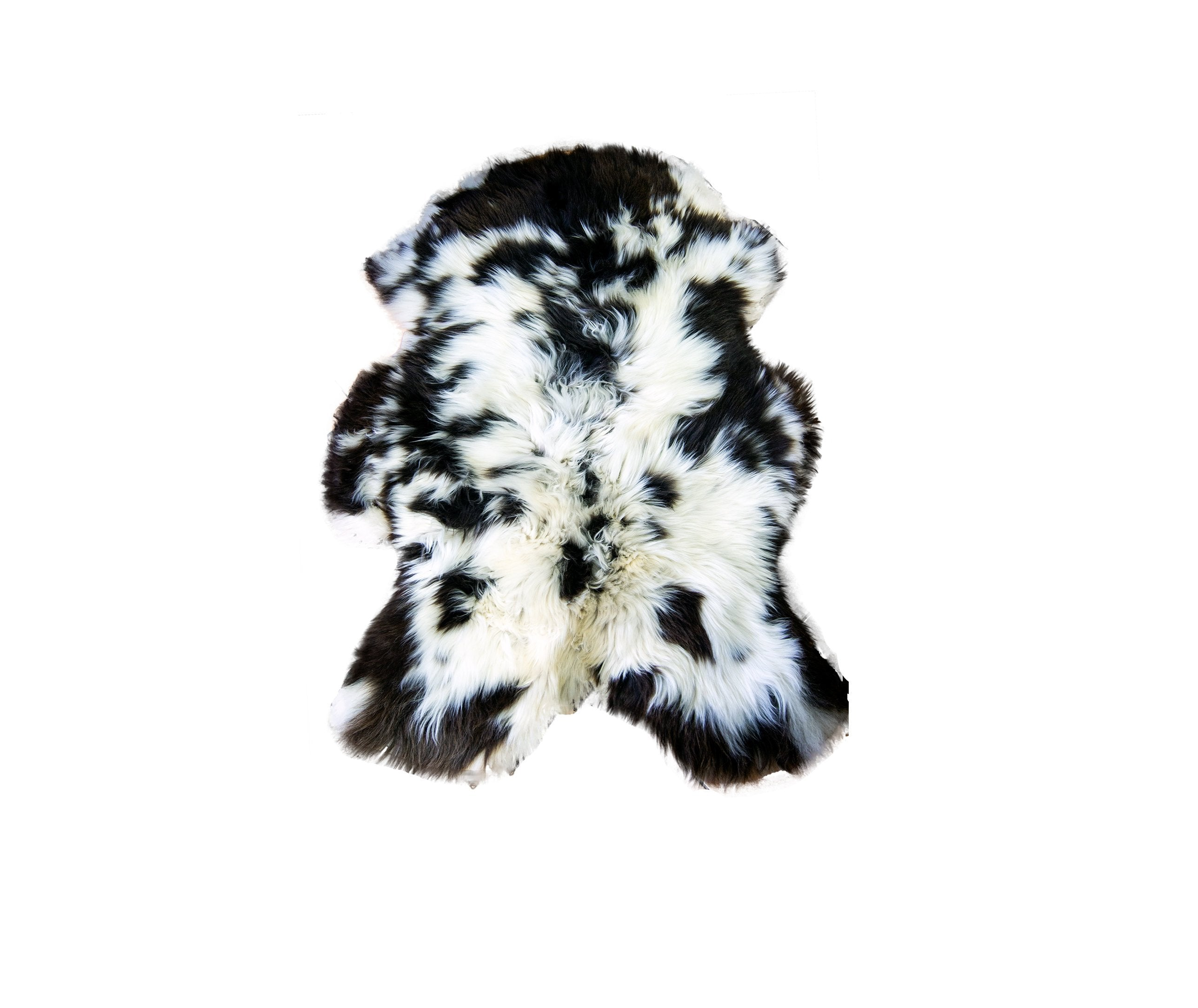 Natural Jacob Rare Breed Sheepskin Rug | HUGE 135cm