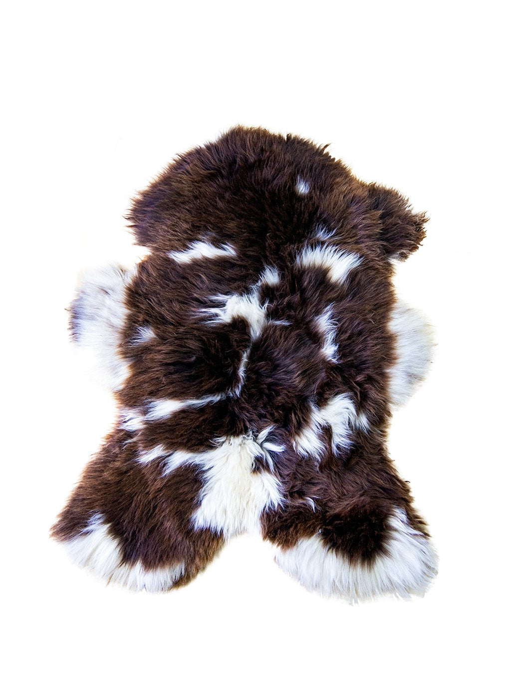 Natural Jacob Rare Breed Sheepskin Rug | HUGE 120 cm