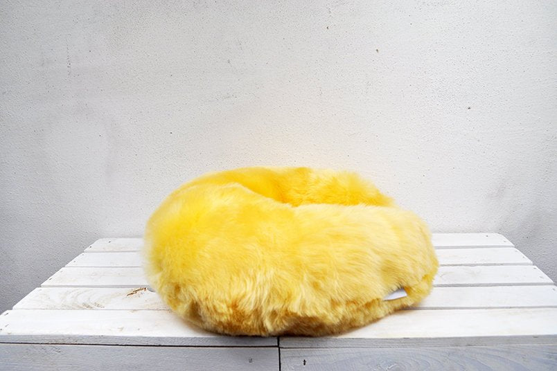 Medical Sheepskin Travel Pillow.