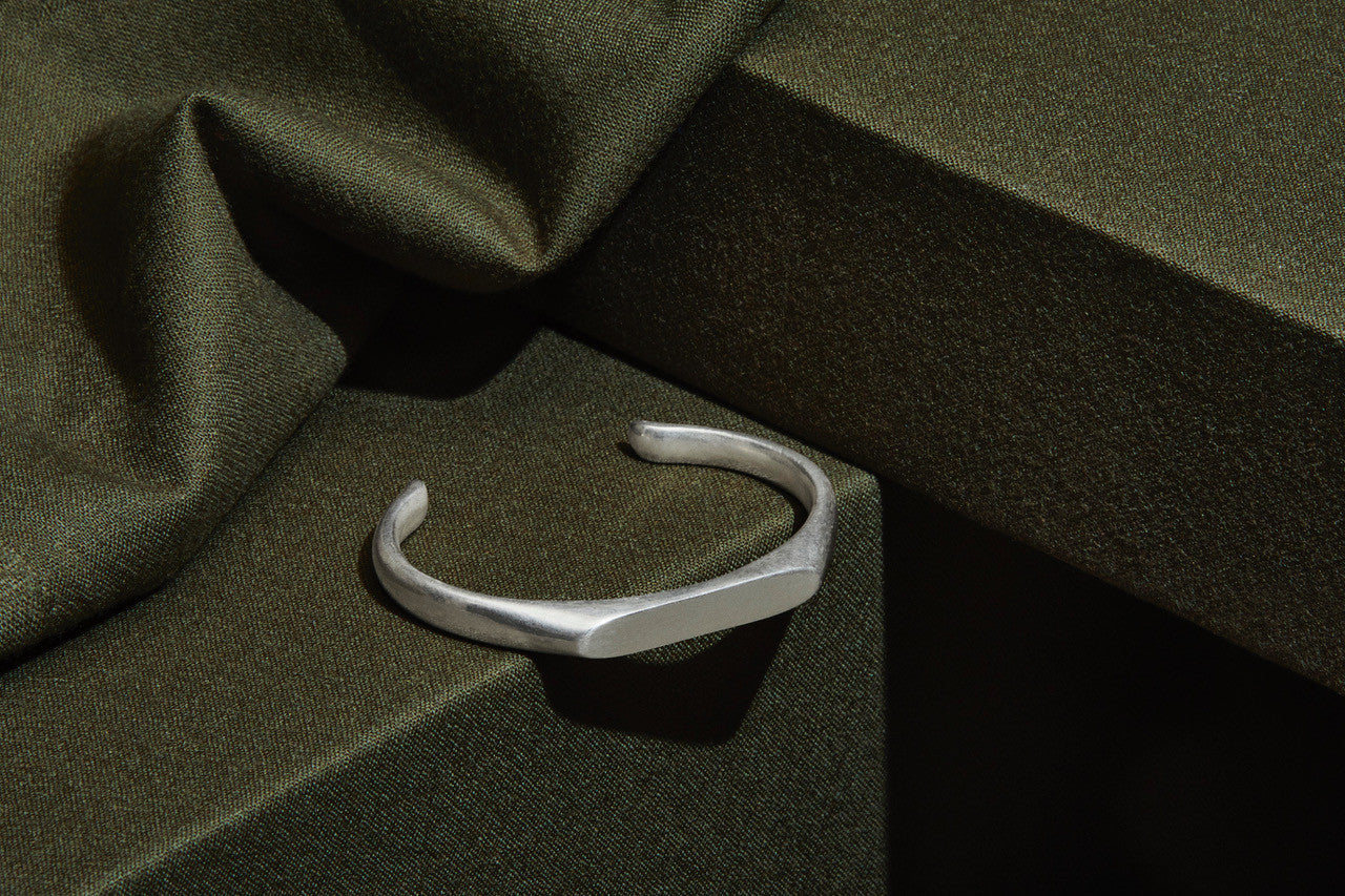 Foundry Cuff - Sterling Silver