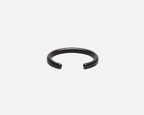 Uniform Round Cuff - Carbon Black