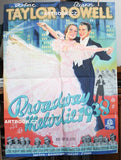 BROADWAY MELODIE 1938. (BROADWAY MELODY OF 1938.) - 1939. Sign. WEIGELT. Tisk A. HAASE (Praha). 125x93 cm. /q/
