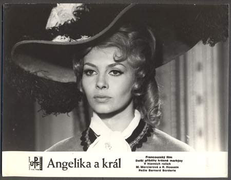 1966. Michele Mercier. 'Fotoska'. /film/kino/