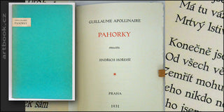 APOLLINAIRE; GUILLAUME: PAHORKY. - 1931.