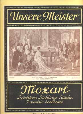 MOZART, W. A. - UNSERE MEISTER.