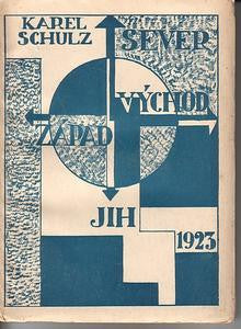 1923. Original wrappers. Cover deisgn by K. TEIGE and J. KREJCAR.