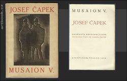 JOSEF ČAPEK. Quarante reproductions. Introduction de Karel Čapek. - MUSAION V. 1924. Text in French.