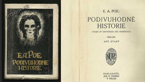Poe, Edgar Allan: Podivuhodné historie. /Tales of grotesque and Arabesque/ - (1914).