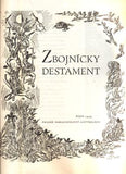 KOBZÁŇ, JAN: ZBOJNICKÝ DESTAMENT. - 1959.