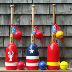 Maine Lobster Buoy Bat & Ball Sets