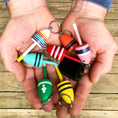 Mini Buoys - Key Chains, Back Packs, Zippers!