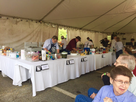 Seafood Cooking Contest Maine Lobster Festival 2017