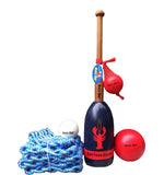 Maine Lobster Buoy Bat & Ball Set Grand Slam Package