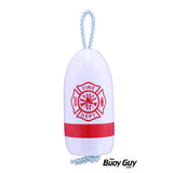 Decorative Maine Hanging Lobster Buoy - Fire Department - Choose Your Colors