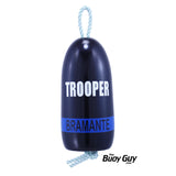 Decorative Hanging Maine Lobster Buoy - Trooper Thin Blue Line