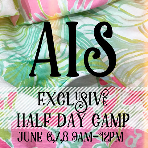 AIS Exclusive Half Day Camp ~ 3 Day