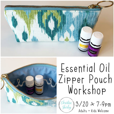 Essential Oil Pouch Workshop
